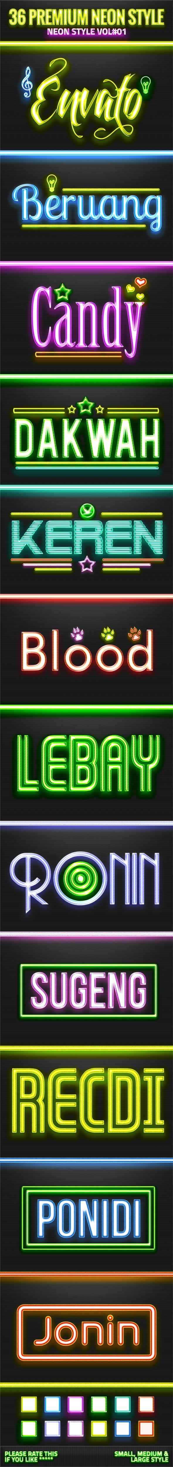 GraphicRiver 36 Neon Style V01 11174290