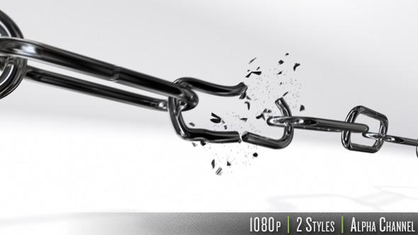 Chain Link Breaking