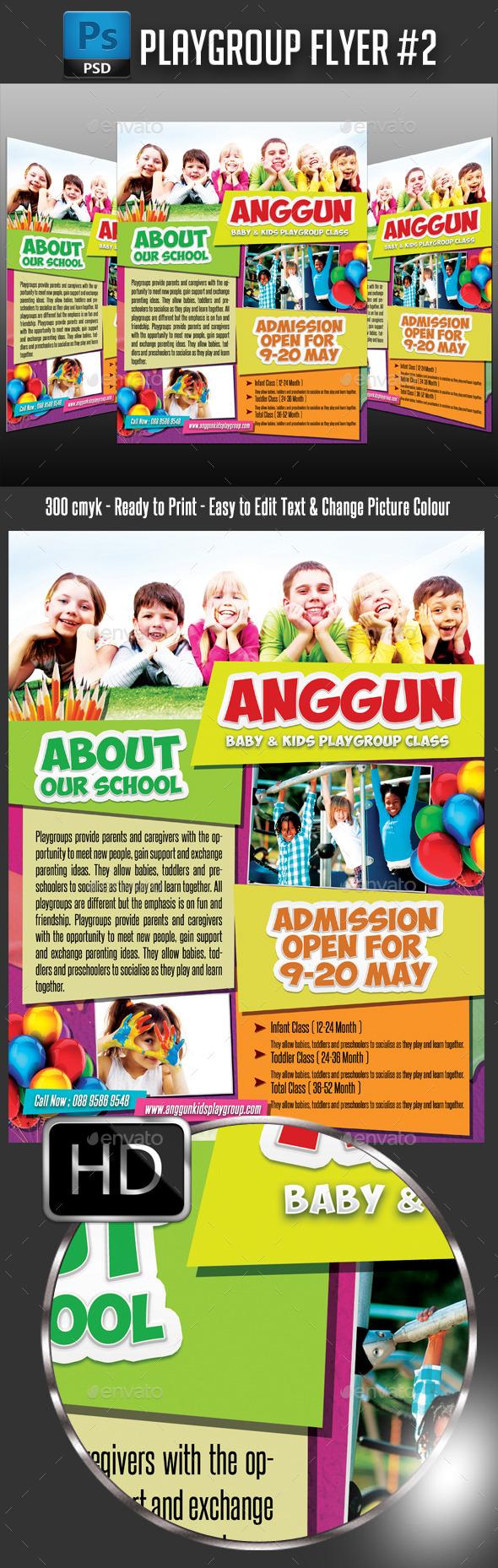 GraphicRiver Playgroup Junior School #2 11188455