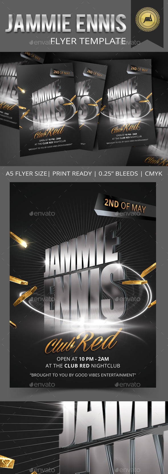 GraphicRiver Jammie Ennis Flyer Template 11189905