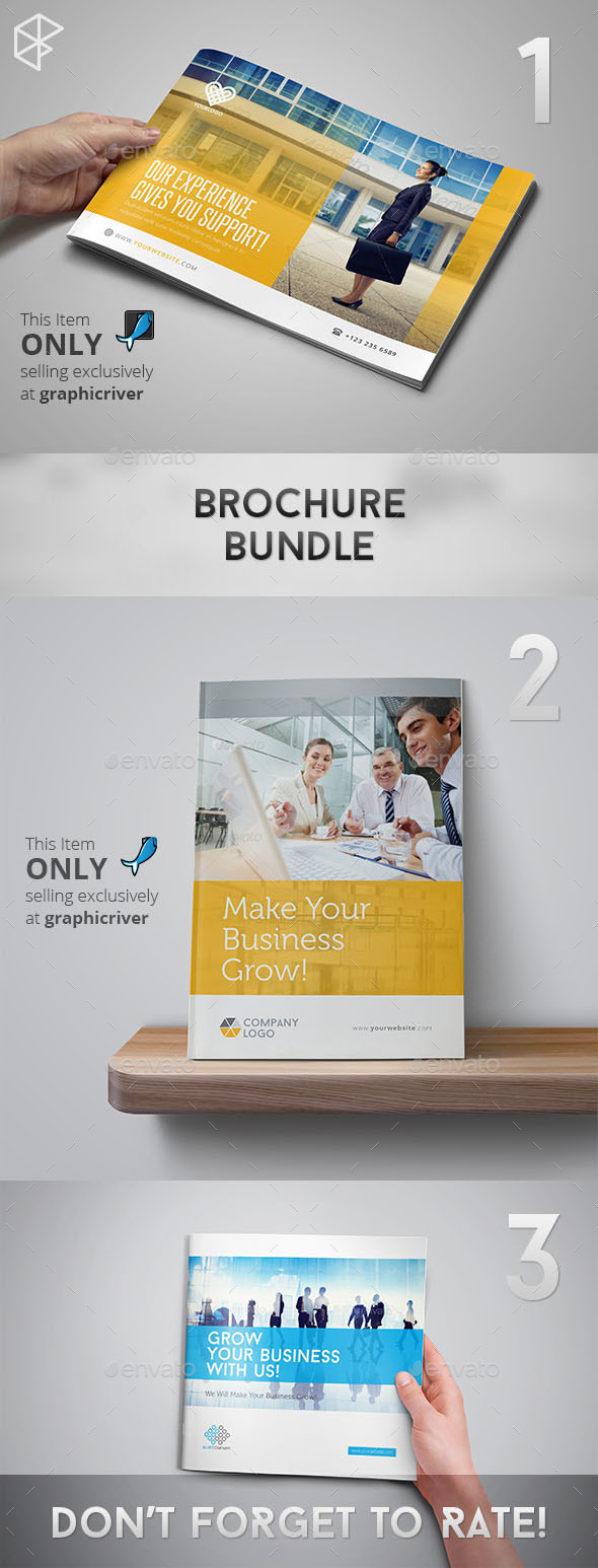 GraphicRiver Brochure Bundle 11189968