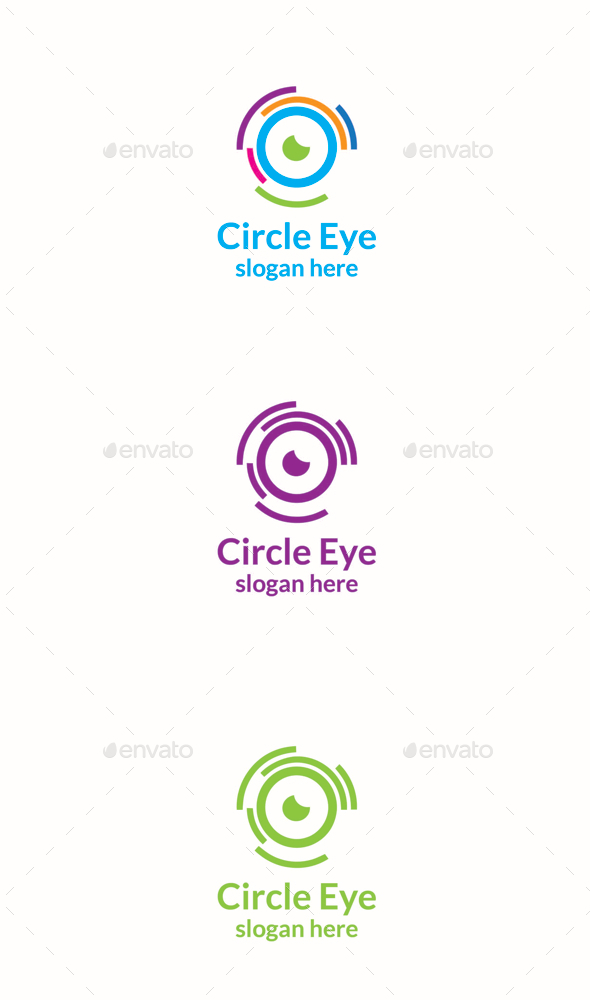 GraphicRiver Circle Eye 11189988
