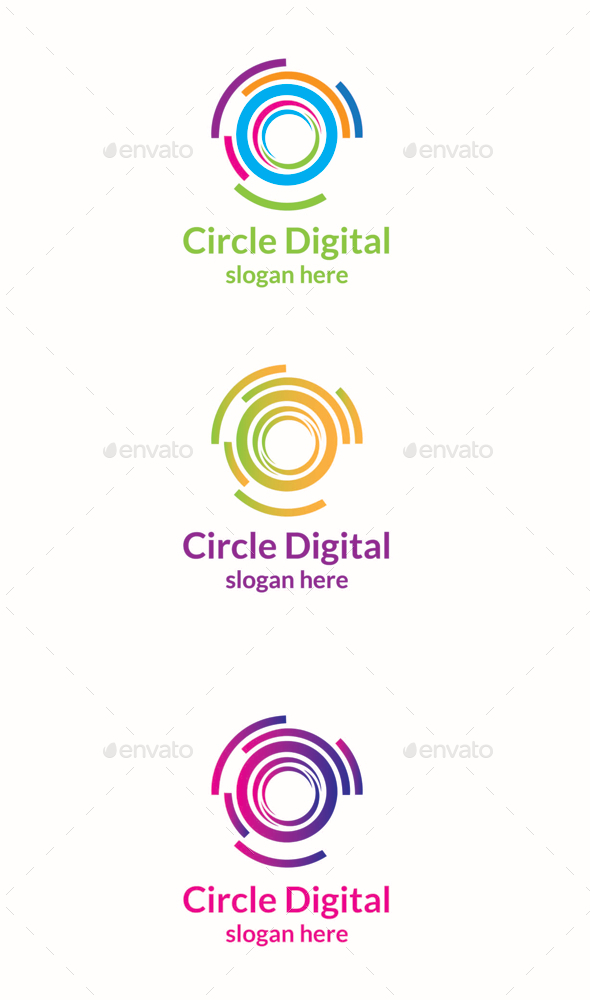 GraphicRiver Circle Digital 11189991