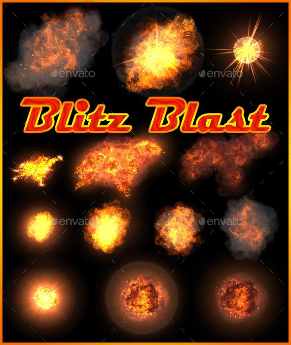 GraphicRiver Blitz Blast 11190495