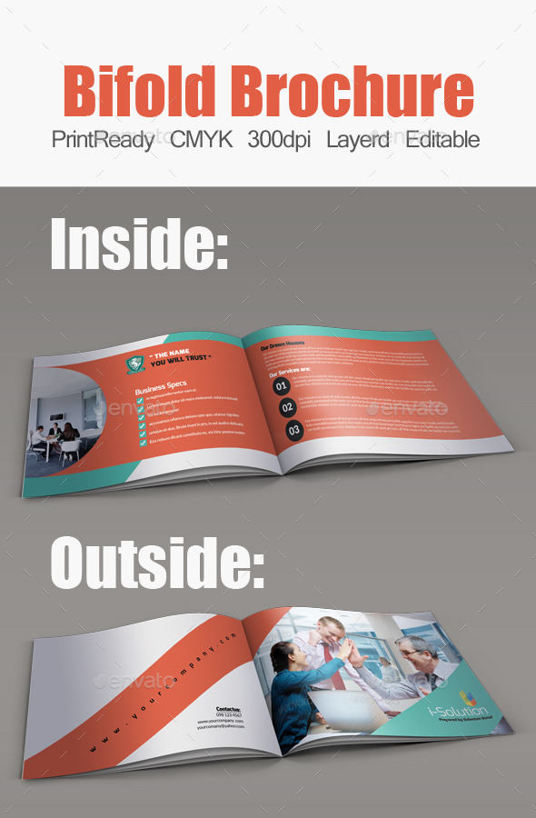 GraphicRiver Business Bifold Square Brochure Template 11190729