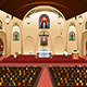 Pastor Giving a Sermon at a Church - GraphicRiver Item for Sale