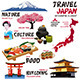 Infographic Elements for Japan - GraphicRiver Item for Sale