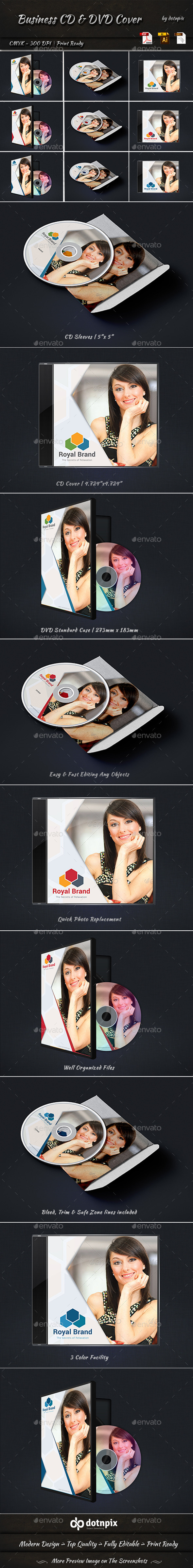 GraphicRiver Business CD And DVD Cover 11192380