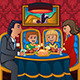 Family Eating Dinner Together - GraphicRiver Item for Sale