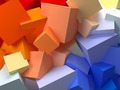 abstract cubes - PhotoDune Item for Sale