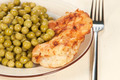 Chicken meat with green peas - PhotoDune Item for Sale