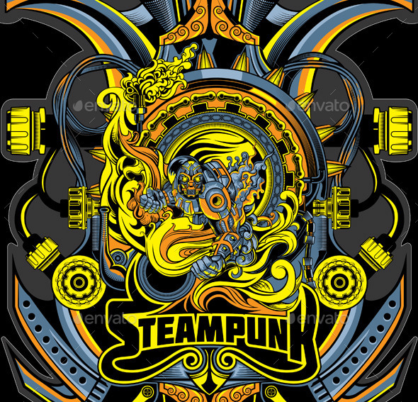 GraphicRiver Steampunk 11193799