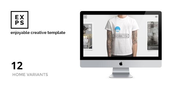 ThemeForest EXPOSE Joomla Portfolio for Creatives & Agency 11193875
