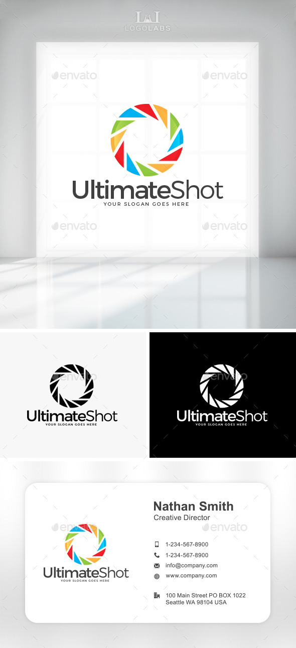 GraphicRiver Ultimate Shot Logo 11194289