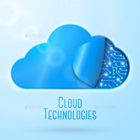 GraphicRiver Cloud Computing Technology 11194425