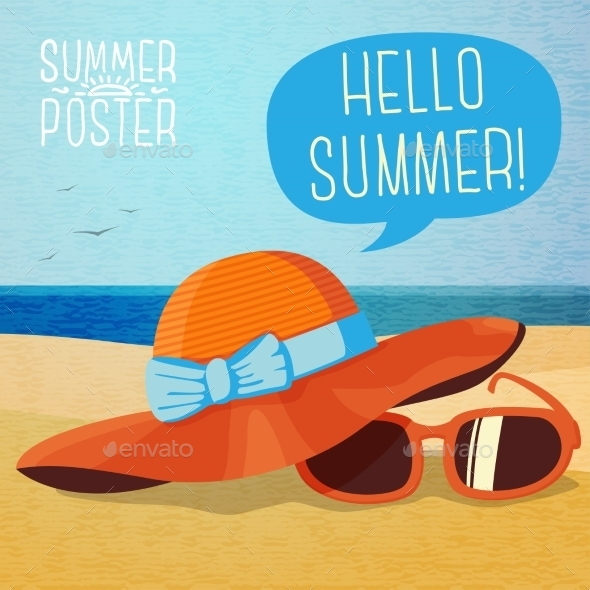 GraphicRiver Summer Poster 11194455