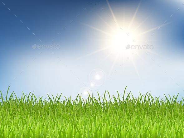 GraphicRiver Sunny Landscape 11194467