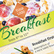 Light Breakfast Banner Template - GraphicRiver Item for Sale