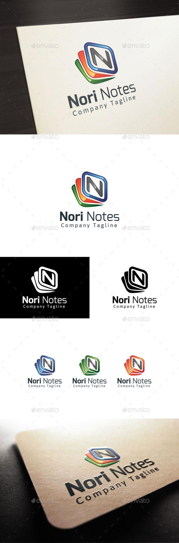 GraphicRiver Nori Notes 11194704