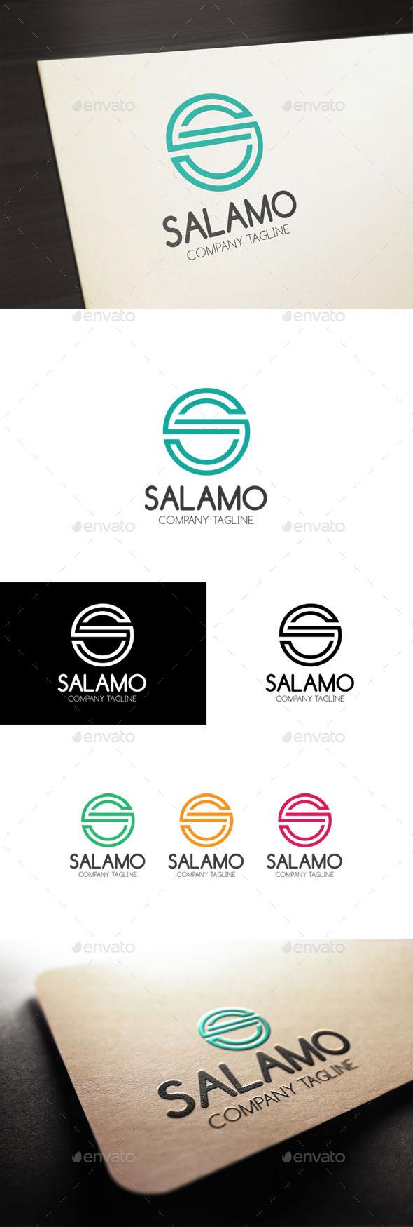 GraphicRiver Salamo S Letter 11194862