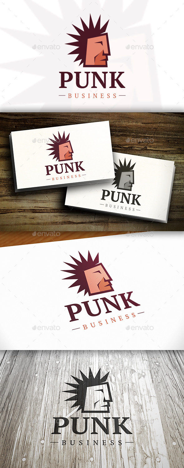 GraphicRiver Punk Logo 11195517