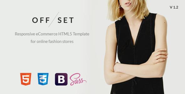 OFFSET - eCommerce, Portfolio HTML5 Template