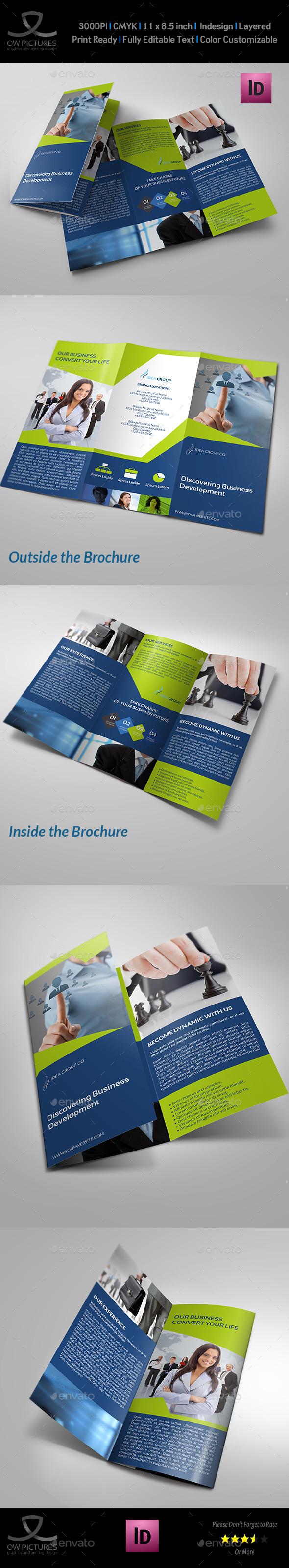 GraphicRiver Company Brochure Tri-Fold Brochure Vol.20 11195604
