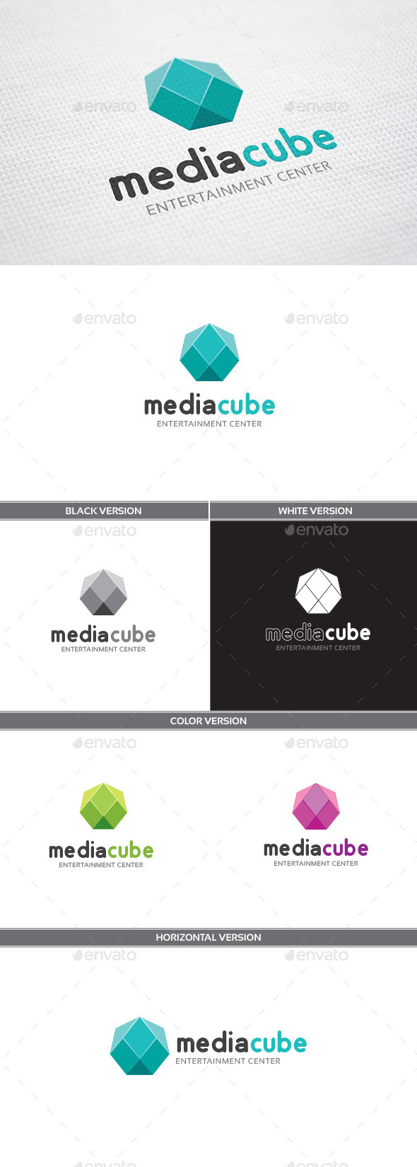 GraphicRiver MediaCube 11195738