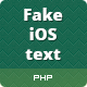 Fake iPhone Text Generator - CodeCanyon Item for Sale
