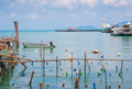 Bay in the fishing village of Bang Bao near the lighthouse - PhotoDune Item for Sale