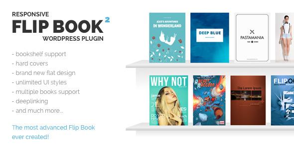 Responsive FlipBook WordPress Plugin - CodeCanyon Item for Sale