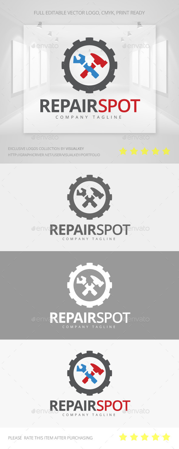 GraphicRiver Repair Spot Logo 11196263