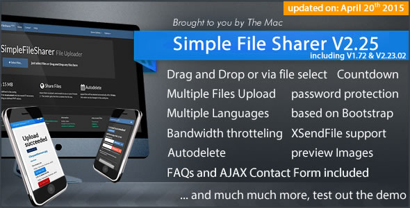 Simple File Sharer - CodeCanyon Item for Sale