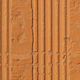 Hollow clay brick pattern seamless