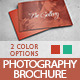 Photography Brochure / Photography Catalog - GraphicRiver Item for Sale