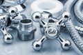 plumbing and tools in a light background - PhotoDune Item for Sale