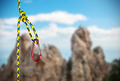 rock climbing rope with hooks - PhotoDune Item for Sale
