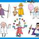 cartoon people occupations characters set - PhotoDune Item for Sale
