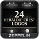 24 Crest Logos Bundle Vol.2 - GraphicRiver Item for Sale