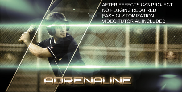 After Effects Project - VideoHive Adrenaline 138442