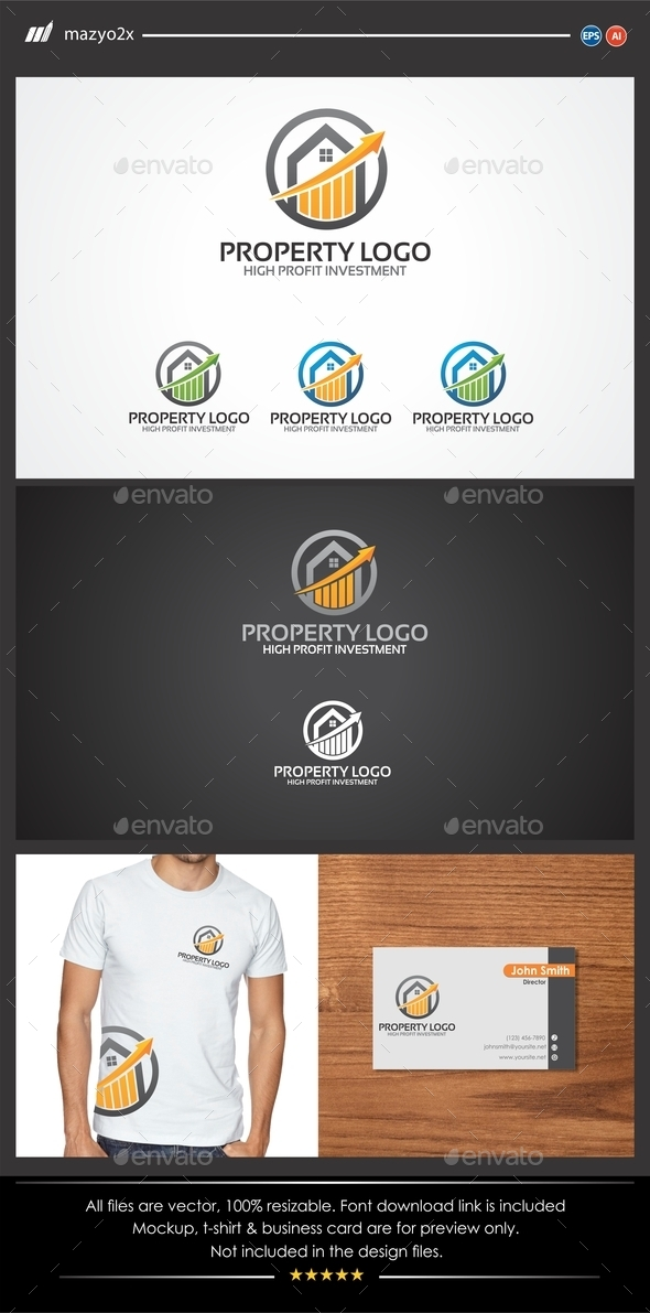 GraphicRiver Property Investment Logo 11197686