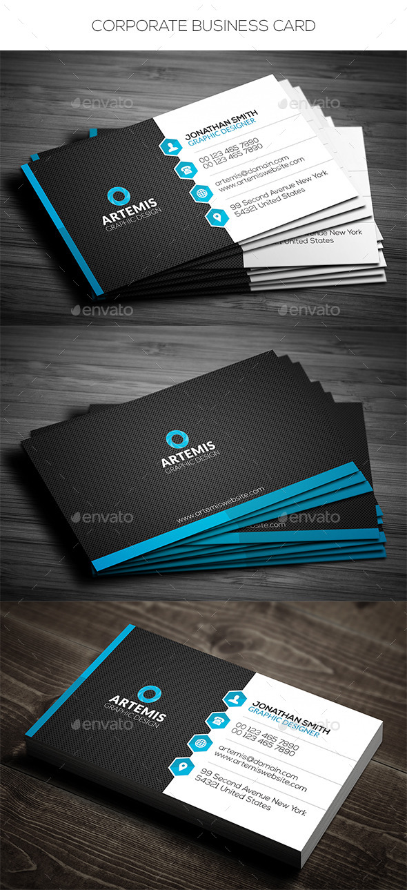 GraphicRiver Corporate Business Card 11197847