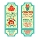 Circus Tickets Set - GraphicRiver Item for Sale