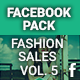 Facebook Pack - Fashion Sales Vol. 5 - GraphicRiver Item for Sale