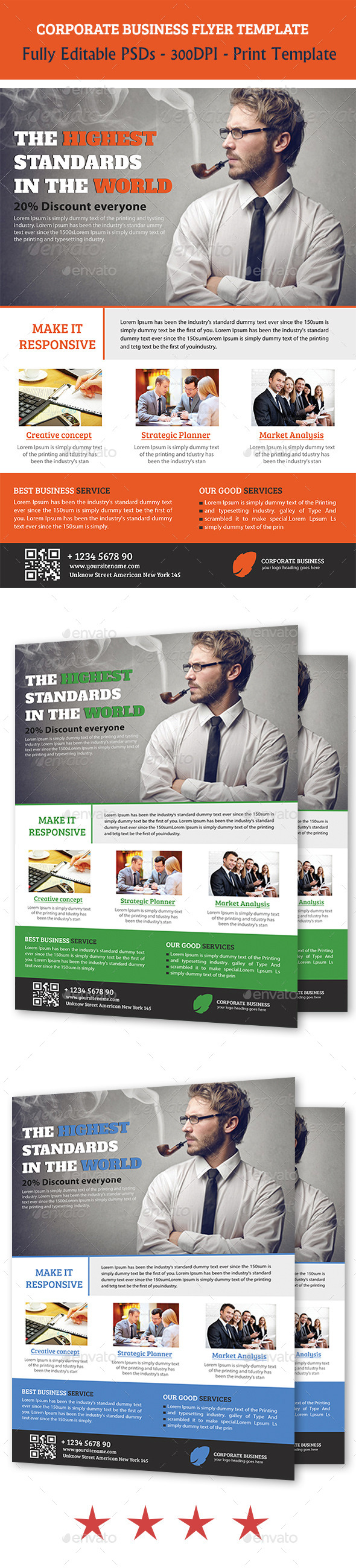 GraphicRiver Corporate Business Flyer Temp 11198786