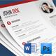 Cv / Resume Set - GraphicRiver Item for Sale