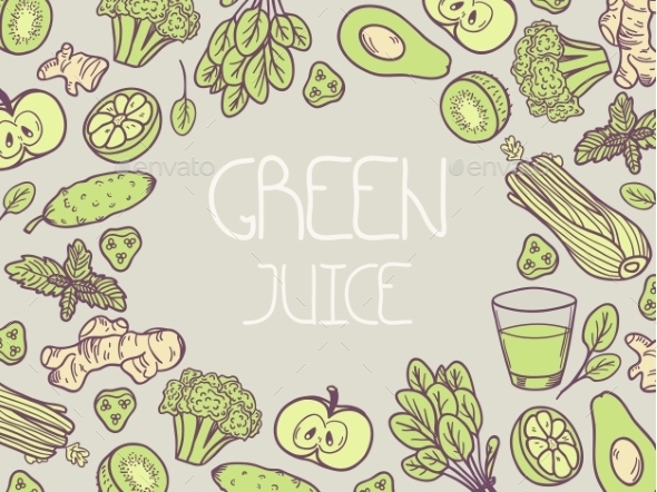 GraphicRiver Green Juice 11199172