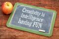 Creativity is intelligence having fun - PhotoDune Item for Sale