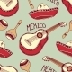 Mexican Seamless Pattern with Sombrero - GraphicRiver Item for Sale