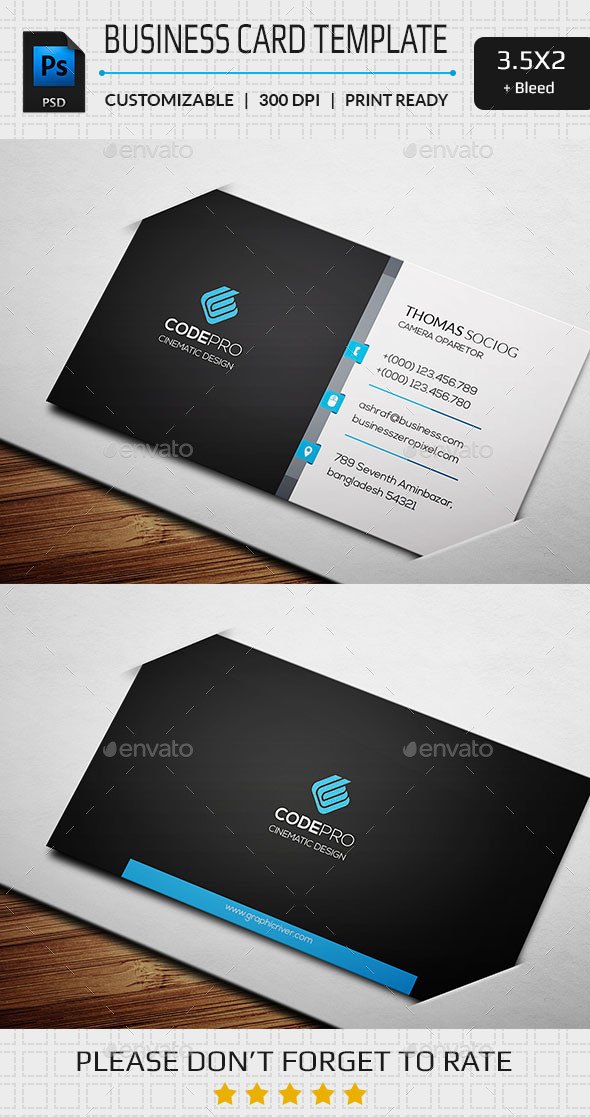 GraphicRiver Clean Business Card 11199210